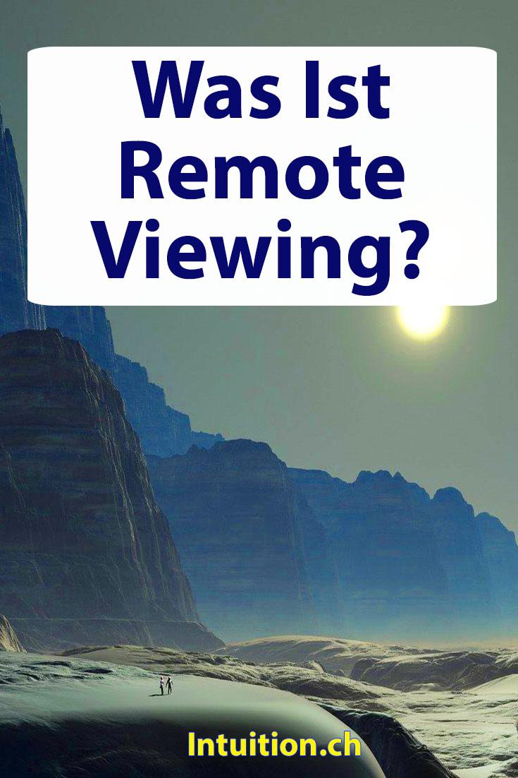 Remoteviewing-Fernwahrnehmung